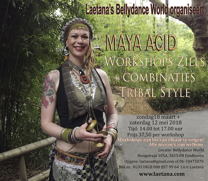Maya Acid Zills + combinaties  Tribal Style 2018