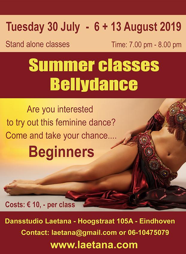 Summer Classes Bellydance